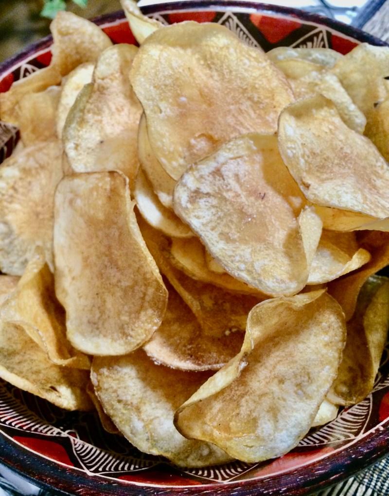 ポテチ 自家製 ツレヅレハナコの今夜のためのレシピ。