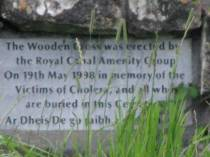 Full zoom across the canal... the inscription on the wall...
