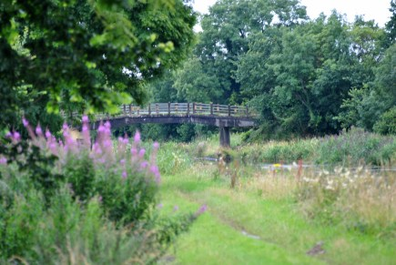 Becan's Bridge... a bit different from the usual stone structures...