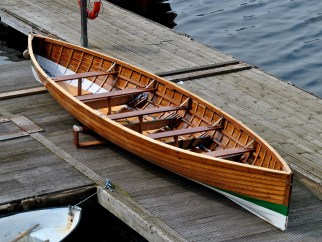 A skiff is not always a skiff! This is the Lady from Dublin...