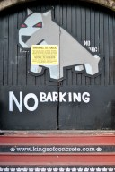 No Barking...