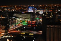 Nov 14 - Trying to get to grip with the art of night photography... Dublin skyline...