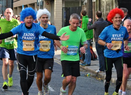 Three lads on the trot... Dublin 2013 Marathon..