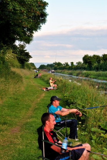 Summer bliss... fishing or boating along Ireland's Royal Canal... oh how we dream!!