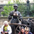 The Tart with the Cart, statue of Molly Malone at the end Grafton Street, Dublin, Ireland