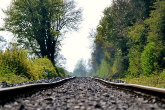 Off the rails? No... right on track!