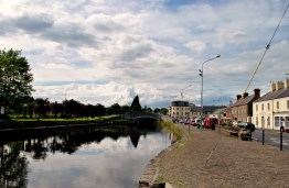 Early August 2013, Royal Canal Harbour in Kilcock, Co Kildare, Ireland... home!
