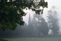 Misty morning along the road from Kilcock to Maynooth... maybe the PC's spook roamed there??