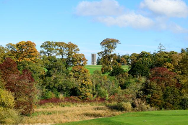 Autumn beauty... the Carton Clock Tower proud on the hill... Maynooth, Co Kildare