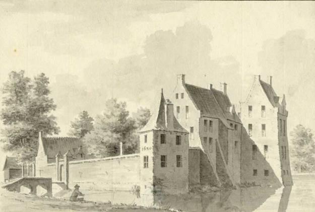 Kasteel Schalkwijk in 1731