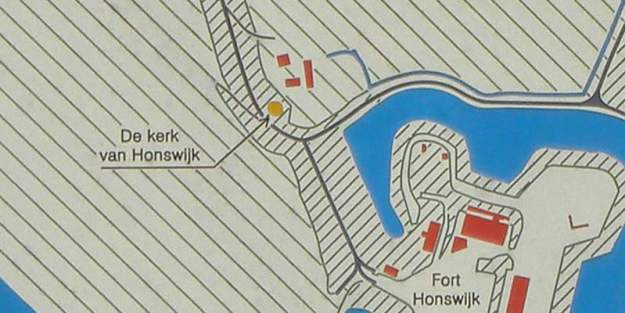 Ligging Honswijk