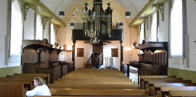 De kerk van Houten