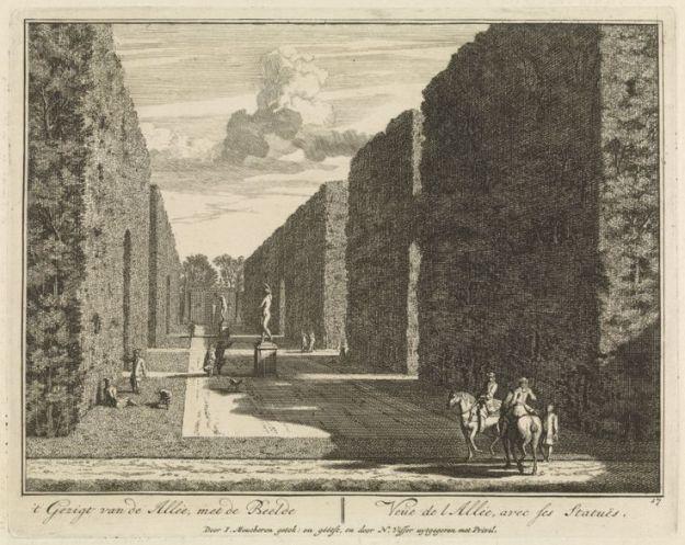 de tuinen van kasteel Heemstede
