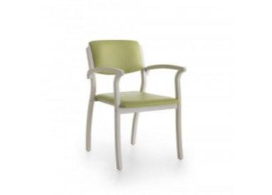 Chaise et fauteuil bois
