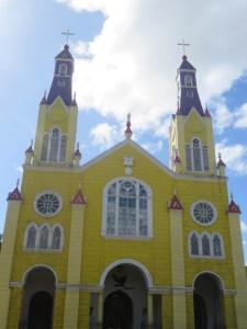 Église Castro Île Chiloé Chili