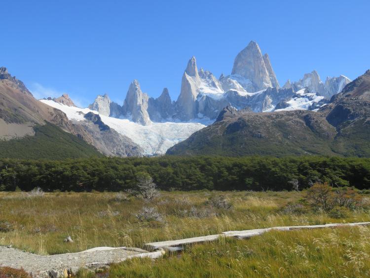 Fitz Roy El Chalten sentier de la laguna de los tres Patagonie Argentine