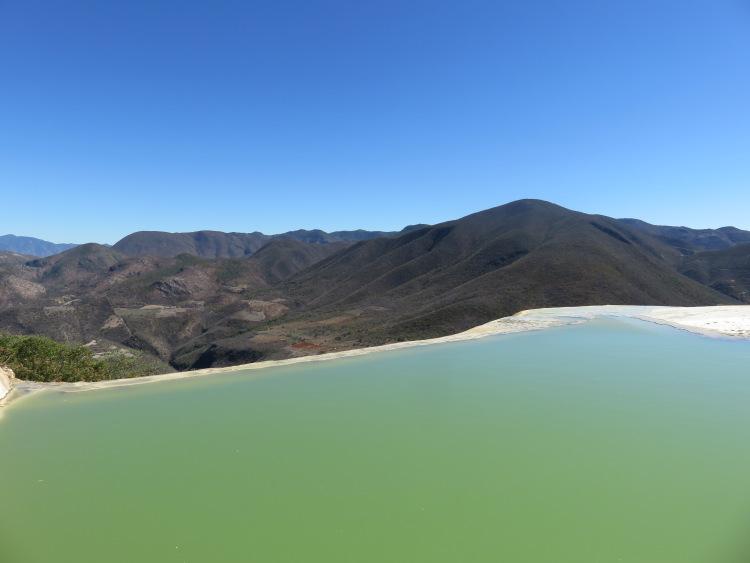 Hierve El Agua Oaxaca Mexique 2
