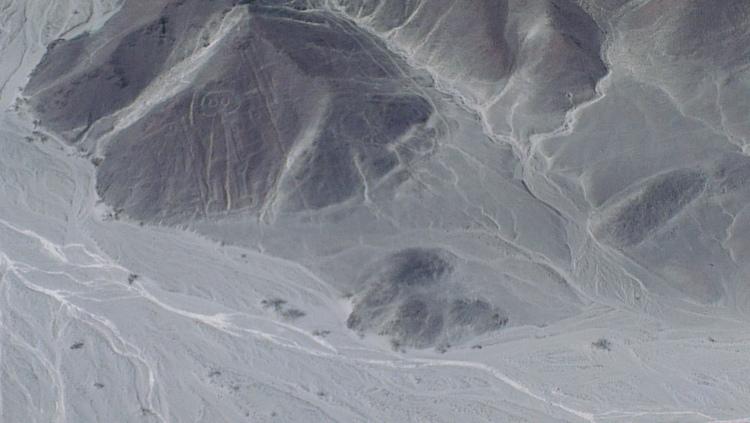 Ligne de Nasca Astronaute Pérou
