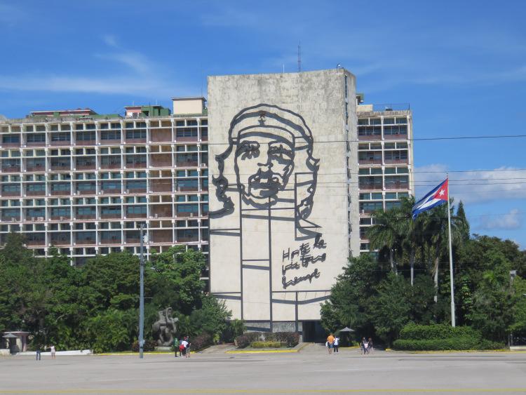 PLace de la révolution Che Guevarra CUba LA Havane