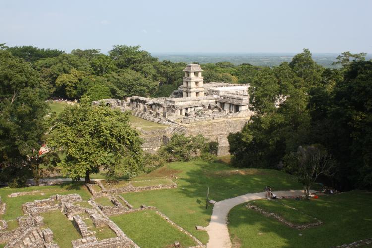 Ruine de Palenque Chiapas Mexique