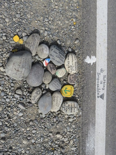 Spot autostoppeurs Village Lagos de los tres Carretera 40 Patagonie Argentine