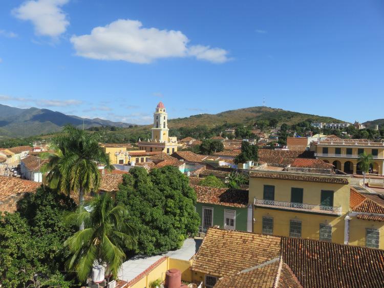 Vue depuis  Palacio Cantero Trinidad Cuba