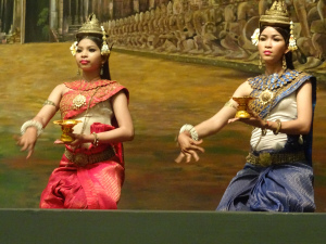 Dance Cambodgienne traditionelle Siem Reap
