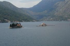 îles Baie de Kotor depuis Perast Montenegro