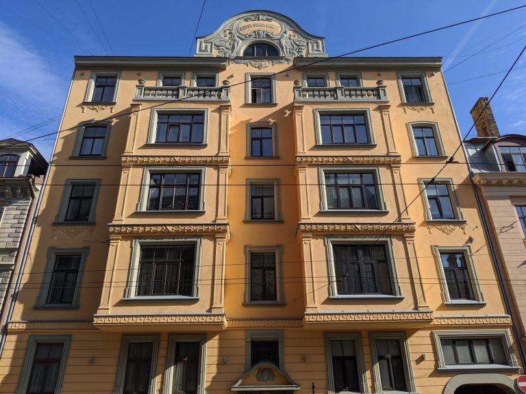 Létonnie Riga Architecture Art Nouveau
