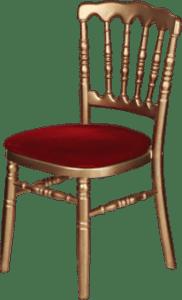 Chaises napoleon or