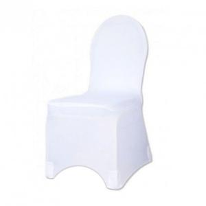 Housse de chaise blanche en location