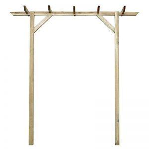 Arche de cérémonie simple en bois