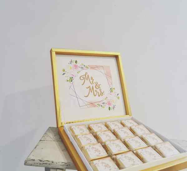 Boite de chocolats mariage vente