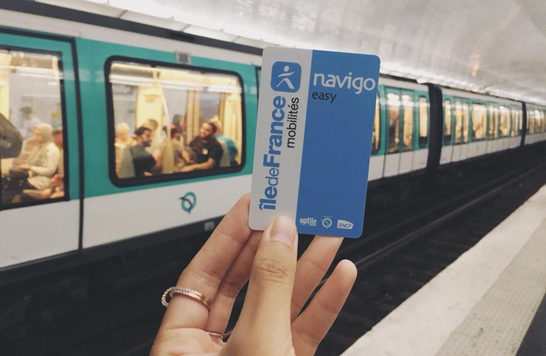 pass navigo easy 單程navigo充值卡