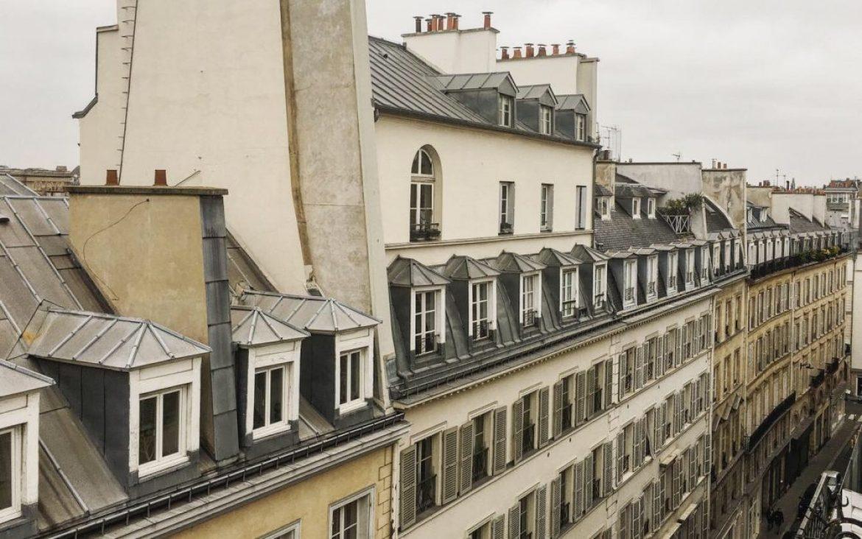巴黎五星飯店 l'hotel窗景