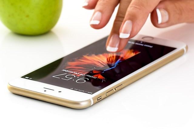 smartphone à nettoyer