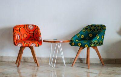 siège décoration confortables et colorés pour salon