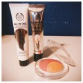 The Body Shop Instablur Primer, All In One BB Cream in 01, Baked To Last Blush in 02