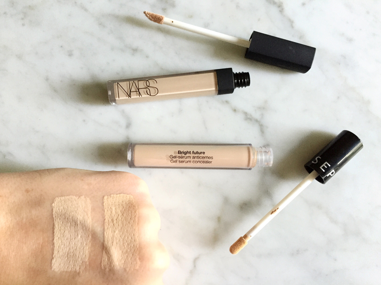 Dupe It Out: NARS Radiant Creamy Concealer Vs Sephora Bright Future Gel Serum Concealer