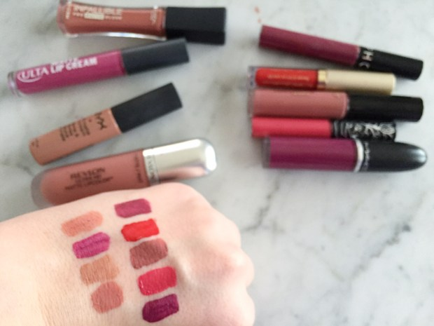 Best Matte Liquid Lipsticks Swatches