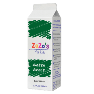 ZoZo's Green Apple Body Wash