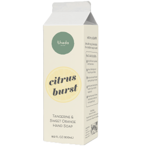 Theda Citrus Burst Hand Soap