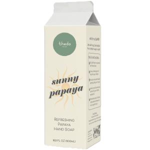 Theda Sunny Papaya Hand Soap