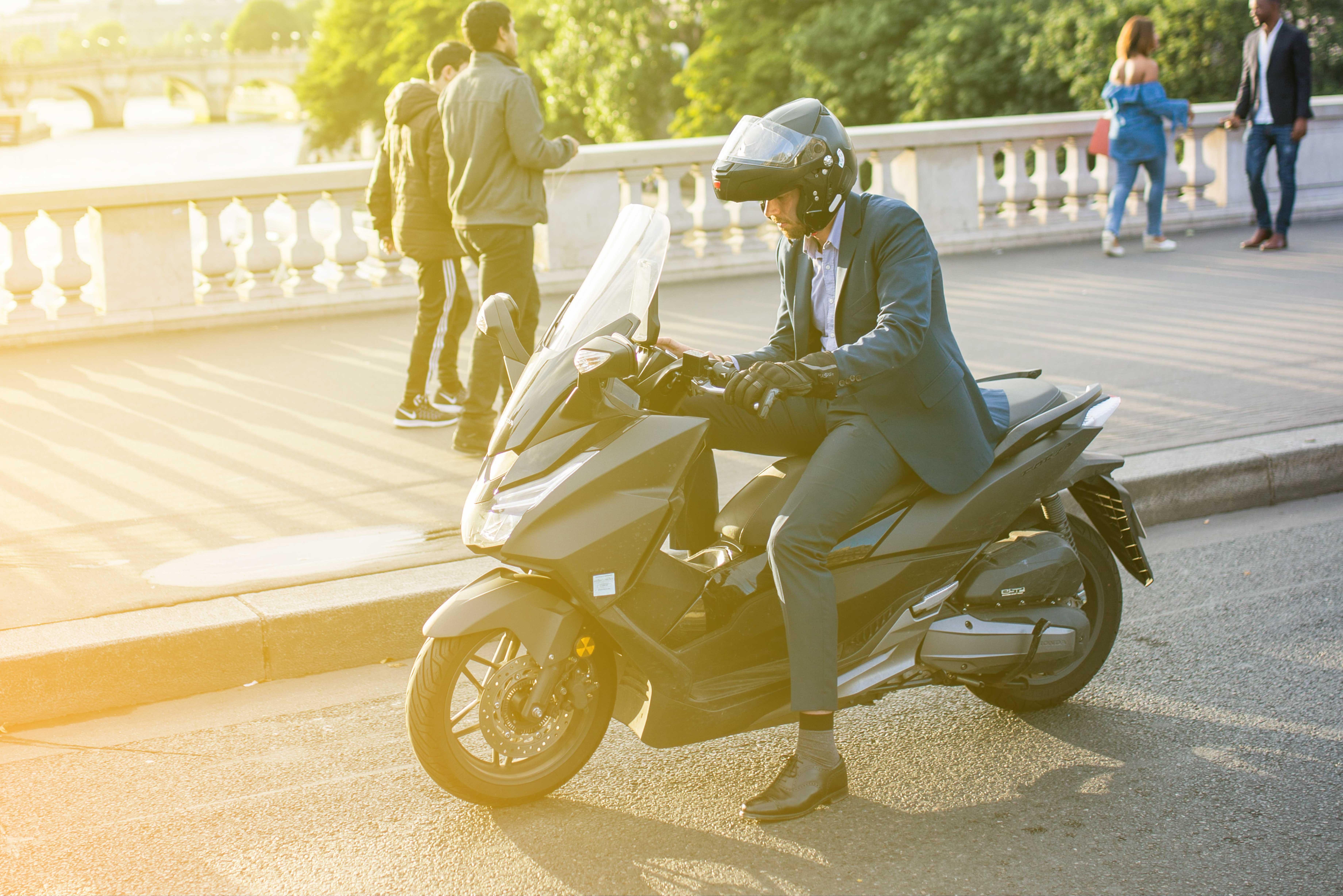 enlèvement scooter moto - Rachat