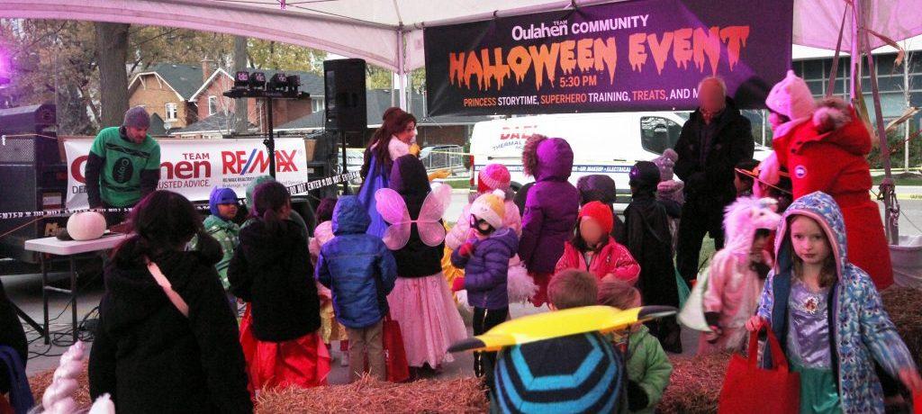 Oulahen Team Halloween Event 2017