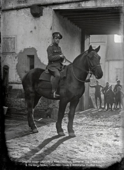 Unknown British Tommy from the 'A' Squadron, the North Irish Horse Regiment.