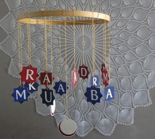 Exemple de Decorations à suspendre