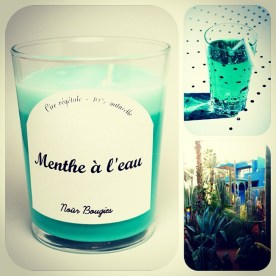 bougie menthe