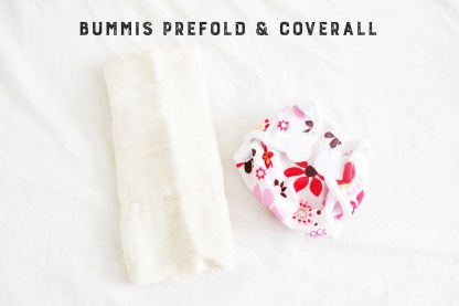 BUMMIS PREFOLD AND COVERALL
