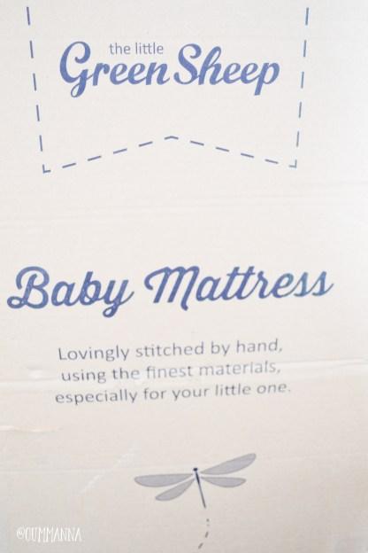 The Little Green Sheep Cot Bed Organic Mattress